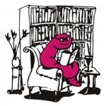 Bookworm logo 1400x1400 freshened up