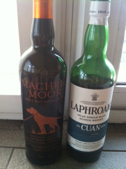 New whiskies Arran and Laphroaig